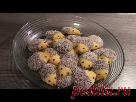 "11 окошко: Печенье ""Ёжики"""
