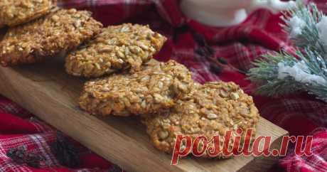 Веганское печенье с корицей  Печенье получается вкусным и питательным.