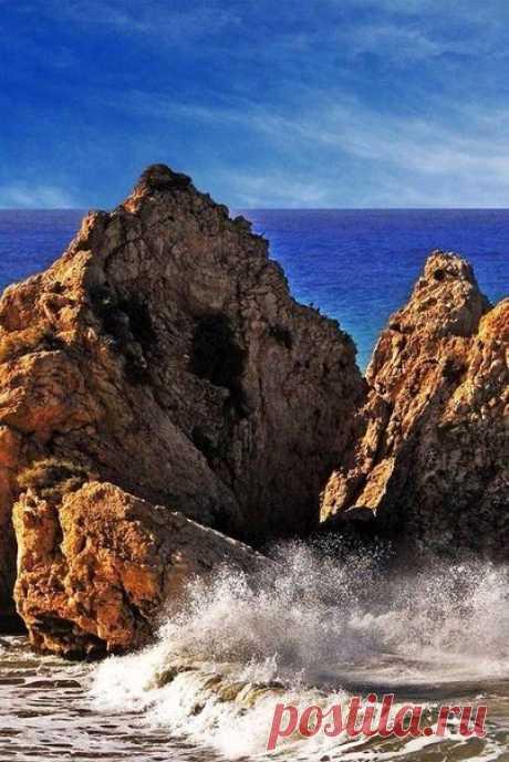 Los tintes brillantes de Chipre.
