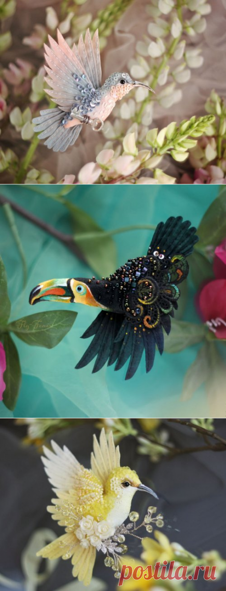 Las aves del Paraíso de la pintora Julia Gorinoy
