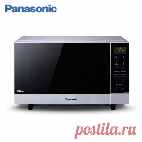 Микроволновая печь с грилем Panasonic NN-GF574MZPE, микроволны, комбинация, туброразморозка, авторазогрев, овощи, каша, спагетти Название бренда:Panasonic Мощность (Вт):> 1300 ВтОбъем:26-30 л Напряжение (В):220 В Назначение:Приготовление на гриле Сертификация:Европейский сертификат соответствия