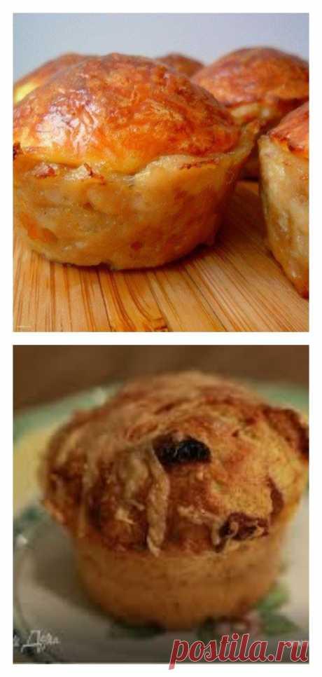 Отменное угощение — куриные кексы с сырной начинкой - tolkovkysno.ru