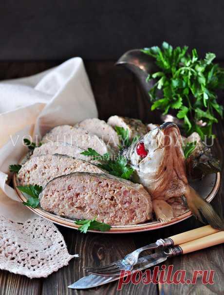 El pez rellenado por-evreyski: poshagovyy la receta de la foto | Mágico Eда.ру