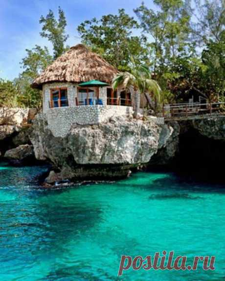 Экзотика. Необычный отель в необычном месте. Ямайка