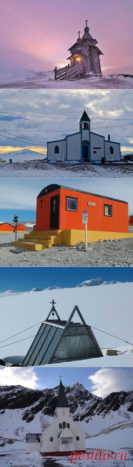 Церкви Антарктиды / Туристический спутник