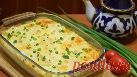 Вкуснятина из Цветной капусты ✧ Запеканка под сырной корочкой