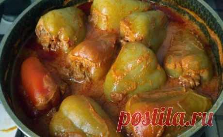 Необычный рецепт приготовления вкуснейшего фаршированного перца - Женский уголок