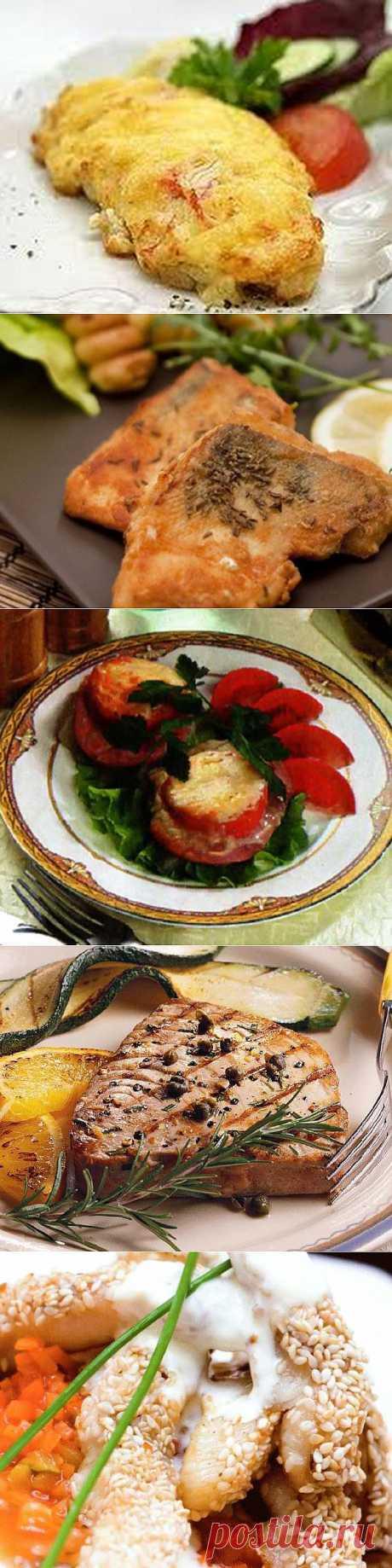 Самые вкусные рецепты блюд из рыбы - фото.