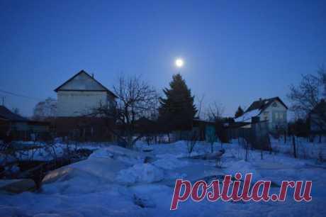 Полная луна весной 2019 | Хозяин дома