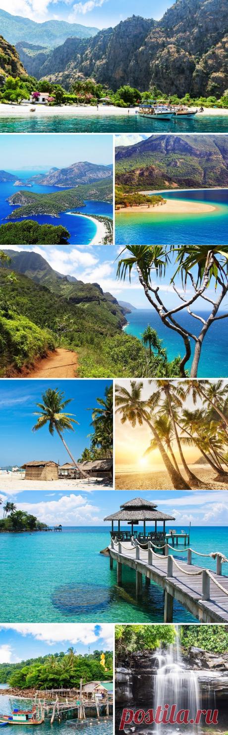 12 райских мест, которые заткнут за пояс даже пляж из рекламы «Баунти»   Все о туризме и отдыхе