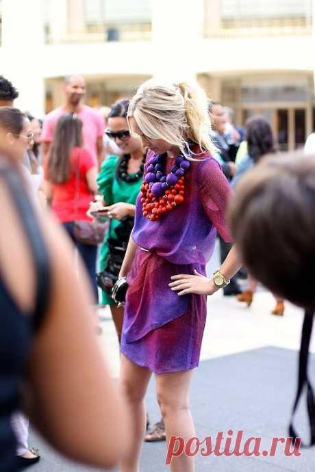 Бусы / Украшения и бижутерия / Модный сайт о стильной переделке одежды и интерьера