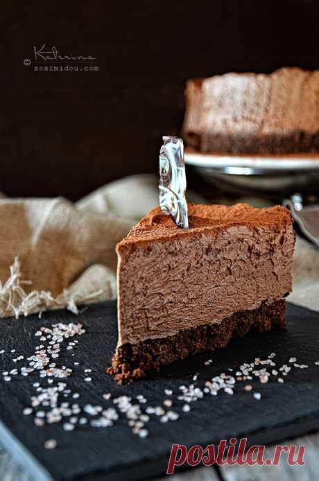 Трюфельный торт с шоколадным муссом | Блог Zosimidou