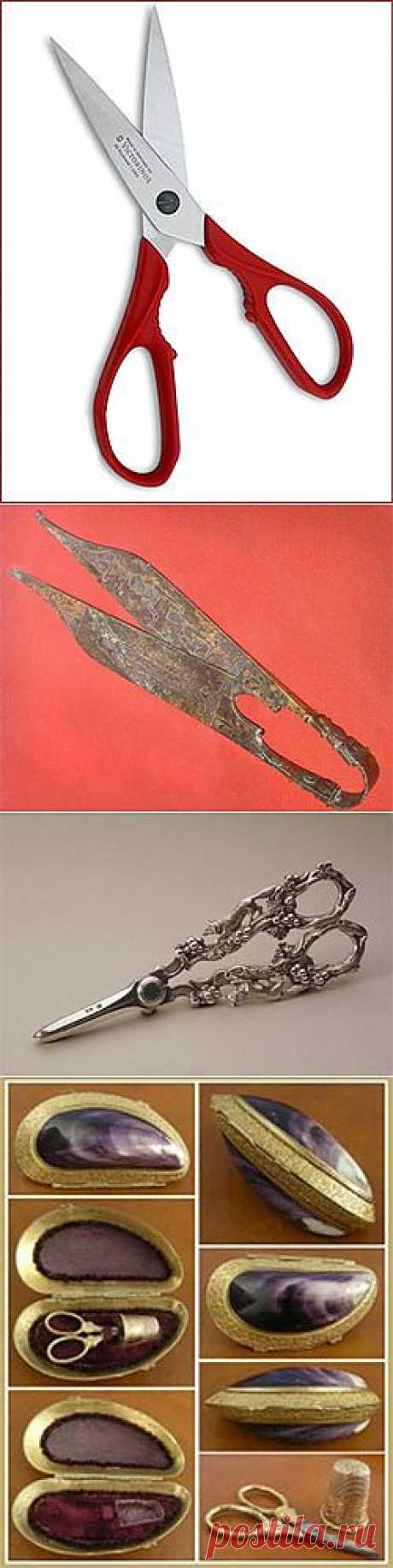 История изобретения ножниц