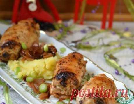 """Фаршированные куриные грудки """"Новогодние"""" – кулинарный рецепт"""