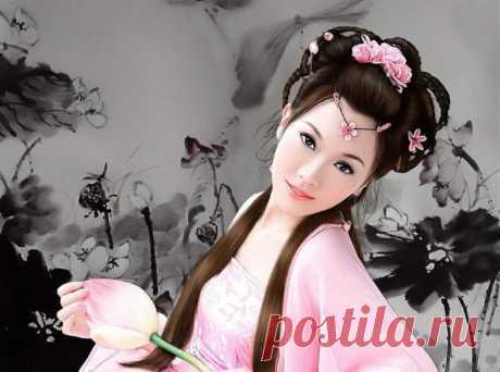 Китайская маска красоты