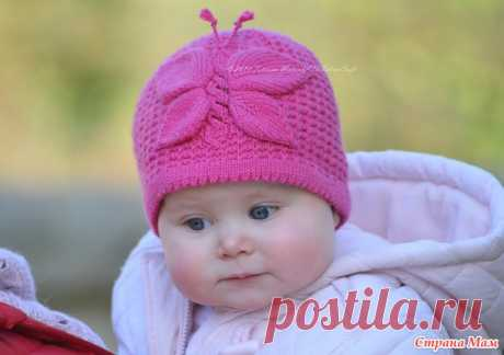 """Hat """"Бабочка"""". - We knit together online - the Country of Mothers"""