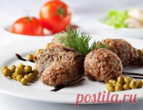 Постные котлеты из гречки / Простые рецепты