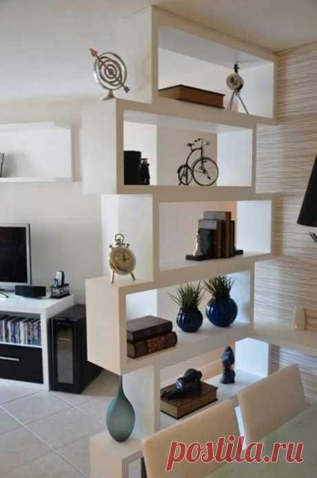 Оригинальные и практичные идеи зонирования пространства в комнатах — Мой дом