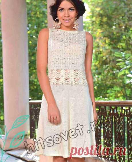 Платье из хлопка на лето - Хитсовет