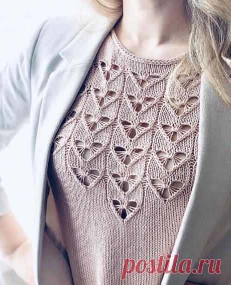 Летняя вязаная мода — черпаем вдохновение! 35 модных моделей | Журнал Ярмарки Мастеров