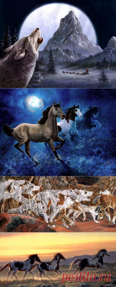 Этническая живопись / В мире животных и птиц. Часть 23.