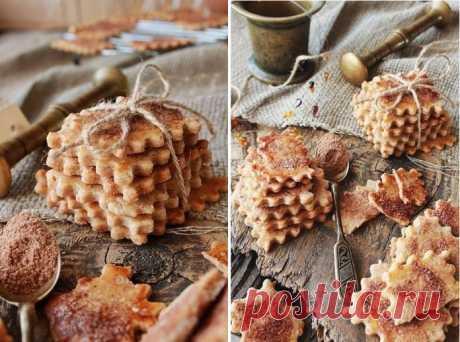 Швейцарское хрустящее печенье с корицей — идеальное угощение!