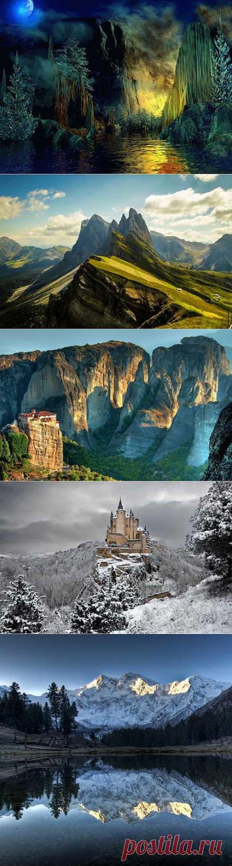 (+1) - Удивительная красота гор! | УДИВИТЕЛЬНОЕ