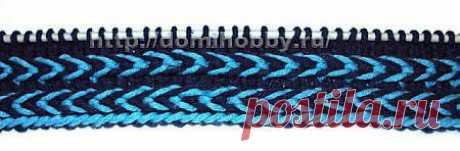 цитата Елена_Мартынюк : Красивый прием вязания спицами двухцветной косички (01:06 06-03-2014) [3595812/315939108] - lapo4kinazina@mail.ru - Почта Mail.Ru