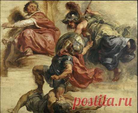 Мудрость спасает царствование Иакова I Английского. Питер Пауль Рубенс. Описание картины, скачать репродукцию.