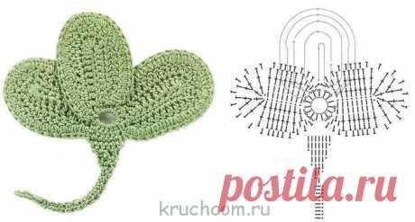 Ирландские кружева - схемы вязания крючком бесплатно, описания для начинающих : Kruchcom.ru