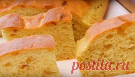 """Ароматный луковый хлеб """"Чипполино"""""""
