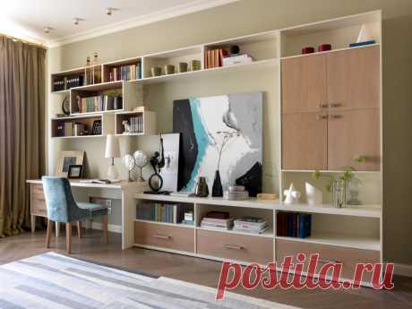 Восхитительная квартира с сиреневой спальней в Москве — Roomble.com