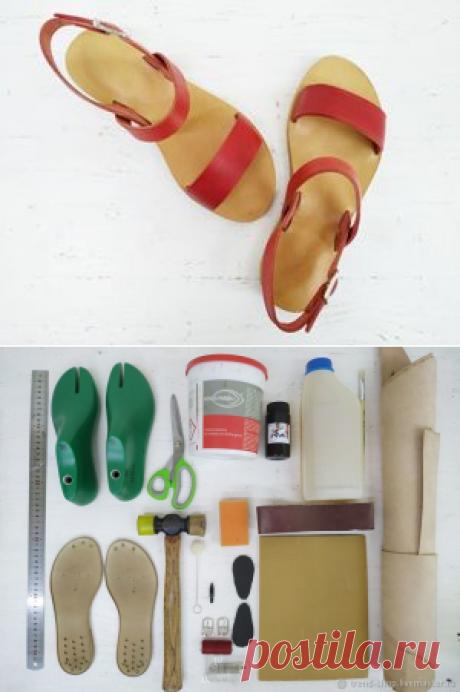 Мастер-класс : Как сделать сандалии своими руками   Журнал Ярмарки Мастеров