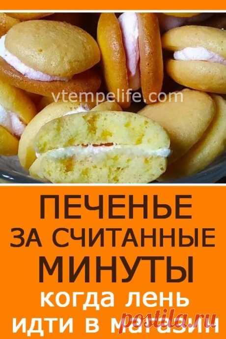 Печенье за считанные минуты, когда лень идти в магазин | В темпі життя