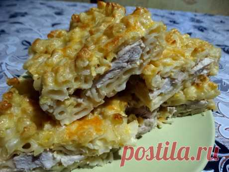 Готовлю «Мясной пирог» из макарон. Получается намного вкусней и проще, чем делать из теста - Ваши любимые рецепты - медиаплатформа МирТесен