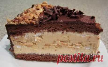 Самый лучший рецепт воздушного торта «Сникерс», который обязательно нужно сохранить в копилку! ...