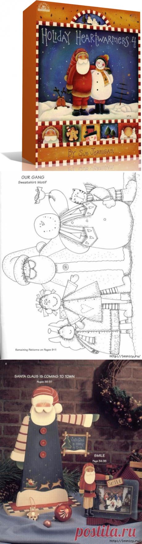 Новогодние праздники - 8 выпусков (Декоративная роспись).