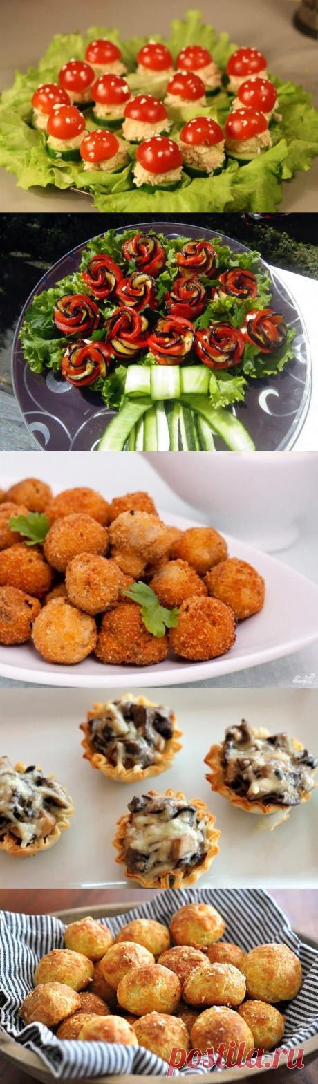 Красивые и вкусные закуски: рецепты приготовления и оформления