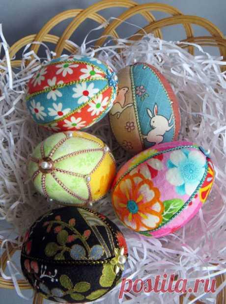 Великденски яйца с техниката пачуърк без игла - 1001 Идеи