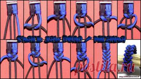 Плетение красивого браслета — Сделай сам, идеи для творчества - DIY Ideas