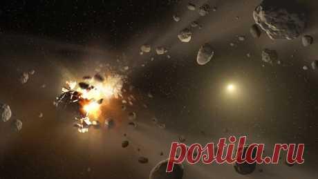 Пояс астероидов погибнет в лучах умирающего Солнца Под действием солнечного излучения разные участки поверхности астероидов прогреваются неравномерно. Это может привести к изменениям их вращения, которые