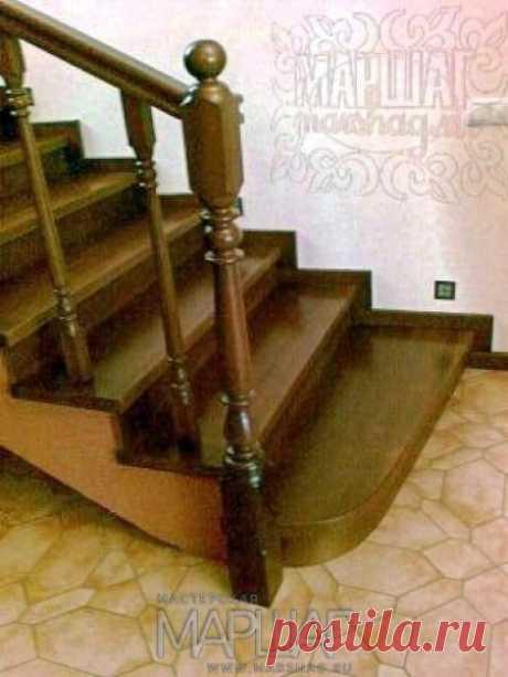 Изготовление лестниц, ограждений, перил Маршаг – Перила из ценных твердолиственных пород