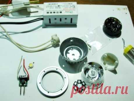 Светодиодный светильник для растений: необходимые материалы, сборка и установка своими руками