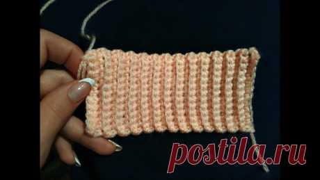Как связать резинку крючком. How to crochet elastic ВСТУПАЙТЕ В ГРУППУ ВКОНТАКТЕ: https://vk.com/club107727530 И В ОДНОКЛАССНИКАХ: https://ok.ru/group/52589815660648 Также можете посмотреть как вязать красивый ш...