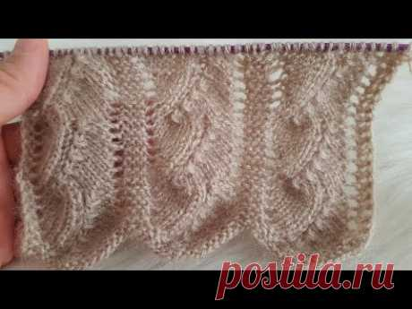 Самая популярная и востребованная модель для вязания с запятой - женский жилет