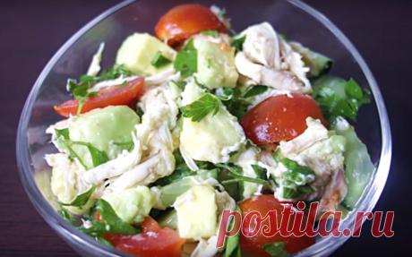 ПП рецепты салатов - 4 идеи: едим и стройнеем