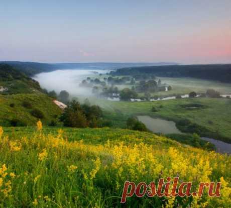 Река Северский Донец, Харьковская область. Автор фото: Виктор Тулбанов.