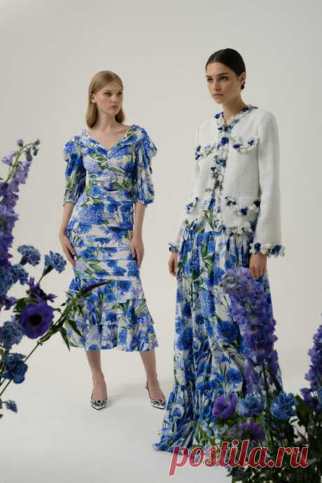 Платья мечты! Dolce&Gabbana специально для России создали «цветочную» коллекцию, и от нее невозможно оторвать взгляд