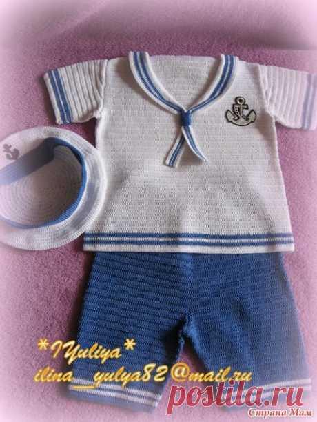 Страна мам вязание для мальчиков до года