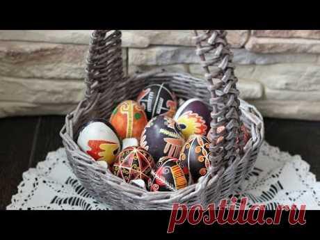 El canastillo para los huevos de Pascua. El tejido de los hojaldres periodísticos